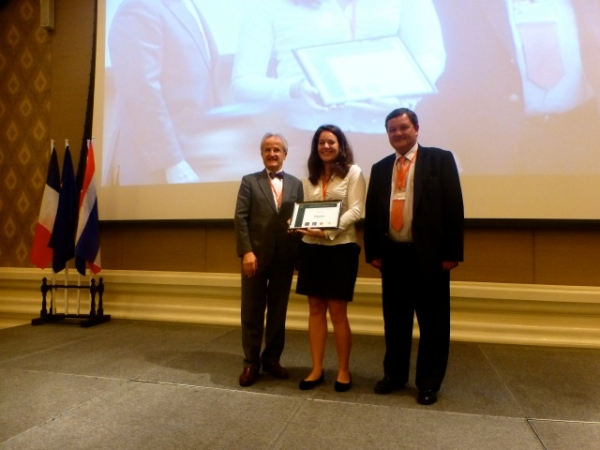 Julie HOPS, Schneider Electric Bangkok, remporte la 2e place du Grand prix